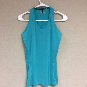 Blue Under Armour Exercise Tank